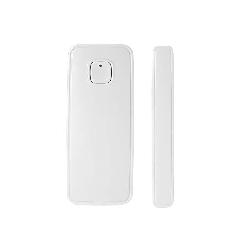 OWSOO Tür Sensor WiFi, Tür Fensteröffnung APP Control Sicherheit Alarm Sensor Magnetschalter Drahtloser Detektor Kompatibel mit Alexa Google Home IFTTT
