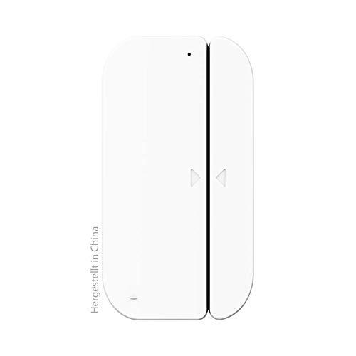 Swisstone SH 510 Tür- Fensterkontakt, Wi-Fi (2,4Ghz), Magnetkontakt, Fensteralarm, Türalarm, Push-Benachrichtigung, Batteriebetrieb (ohne Hub/Bridge/Gateway)