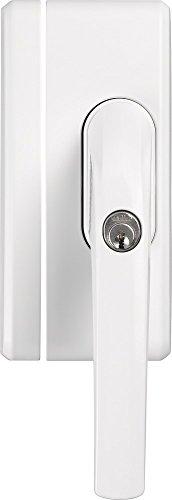 ABUS Fenstergriff-Schloss FO400A mit Alarm, gleichschließend, weiß, 33270
