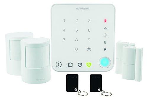 Honeywell Home Security Funk-Alarmanlagen Starter-Set, weiß, HS330S