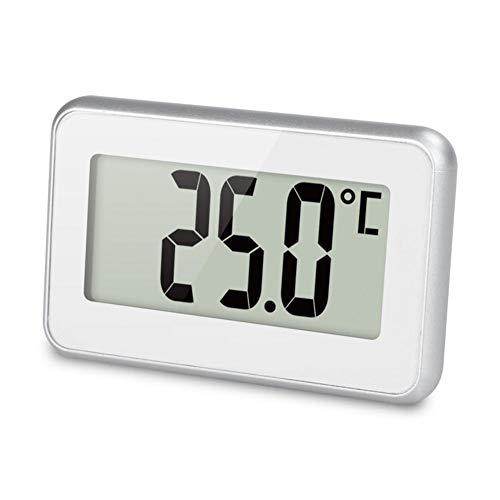 Renoble Kühlschrank Thermometer Digital Gefrierschrank Raumthermometer Wasserdicht Große LCD Display Hintergrund Beleuchtung Akustischer Alarm Temperaturanzeige für die Küche zu Hause