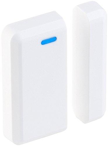 VisorTech Zubehör zu WLAN Fenstersensor: Tür- und Fenster-Sensor für WLAN-Alarmanlage XMD-3000.avs (Alexa kompatible WLAN Alarmanlagen)