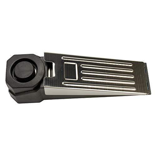 Türstopper Alarm Keil | Türalarm Stopper 100dB | Ideale Türsicherung Einbruchschutz Ergänzung | Türstopper 100% rutschfest