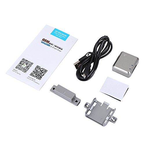 Nosii Mini Echtzeit GSM Wireless Smart Türalarm Magnetische LBS Locator Haussicherungssystem