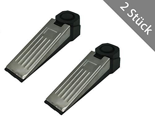 1-8 x HSM Alarm Türstopper Einbruchschutz Türalarm Haustüralarm Türsicherung Alarmanlage Schutzanlage (2 Stück)