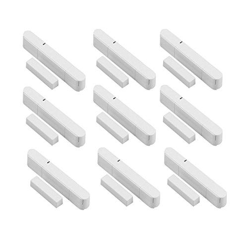 9 Stück Tür – Fensterkontakt für Funk Alarmanlagen der OLYMPIA Protect Serie 6571 60xx 90xx