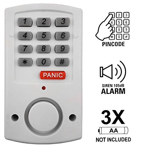 Tür und Fensteralarm Alarmanlage mit Code Sicherung Türarlarm Hausalarm Alarm