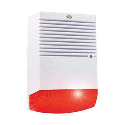 ELRO ADS1F Dummy Alarmsirene-Attrappe-mit blinkendem LED-Licht
