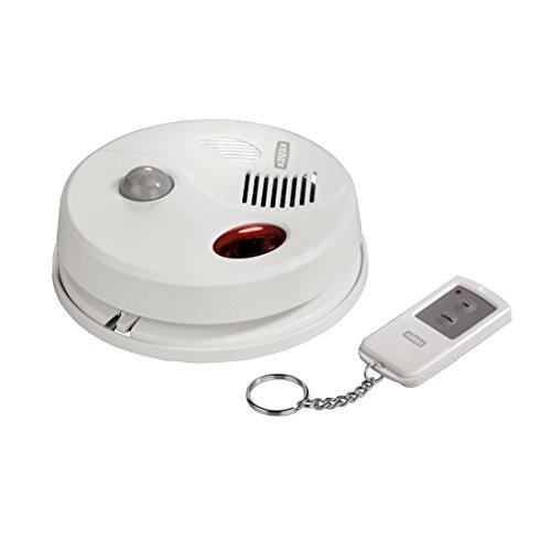 Xavax Decken-Alarmanlage (Infrarot Bewegungssensor mit Alarmfunktion, inkl. Fernbedienung, ideal als Ladenklingel)